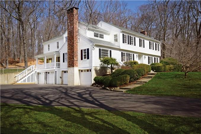 Single Family Home for Sale at 1037 VALLEY ROAD New Canaan, Connecticut,06840 United States