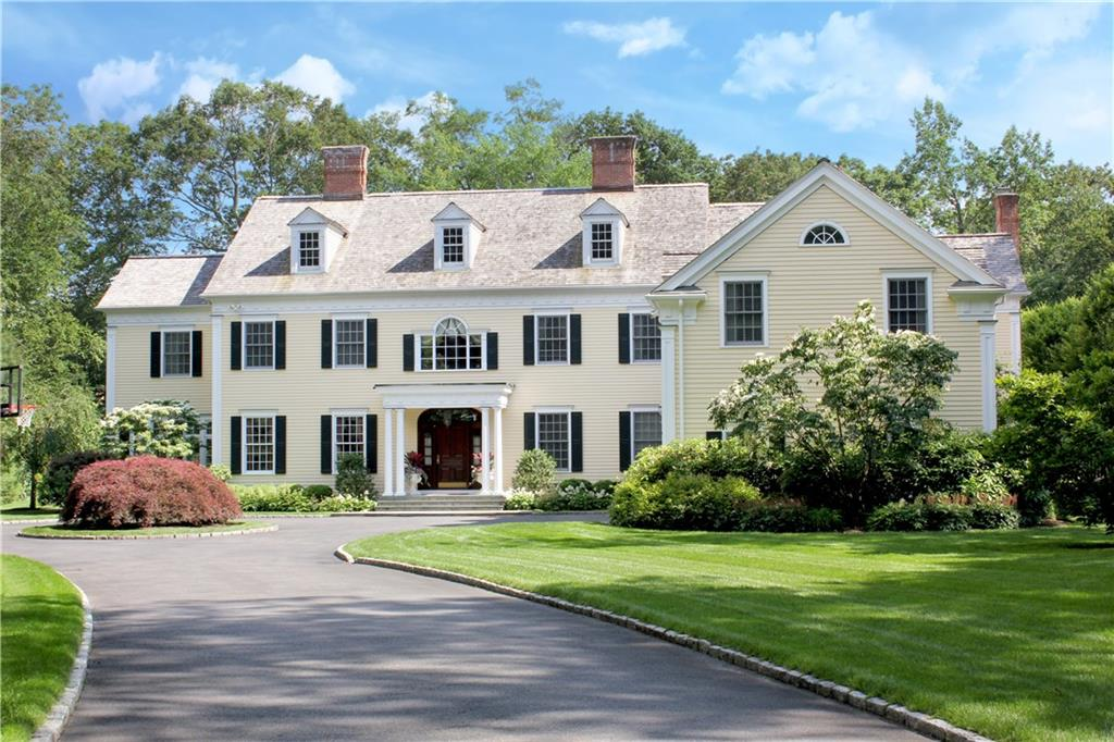 Maison unifamiliale pour l Vente à 440 MICHIGAN ROAD New Canaan, Connecticut,06840 États-Unis