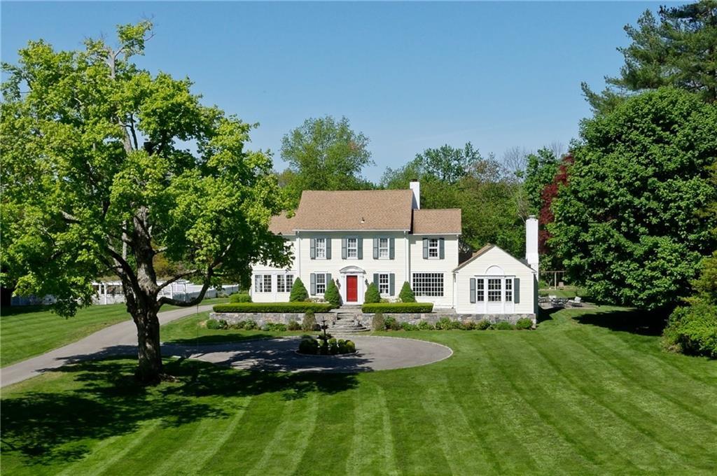 Tek Ailelik Ev için Satış at 175 BROOKSIDE ROAD Darien, Connecticut,06820 Amerika Birleşik Devletleri